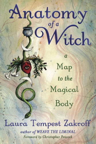 ANATOMY OF A WITCH BOOK Map To The Magical Body witches witchcraft wicca health
