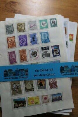 Asia Bhutan Nepal Bangladesh Sri Lanka Pakistan nice large collection on pages