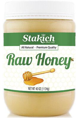 40 oz Raw Honey Quality 100% Pure Natural Fresh Gluten Free Organically Produced - Honey Gluten Free