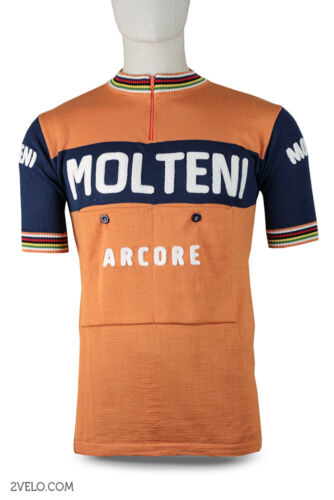 MOLTENI vintage style wool jersey, new, maglia, maillot, size L