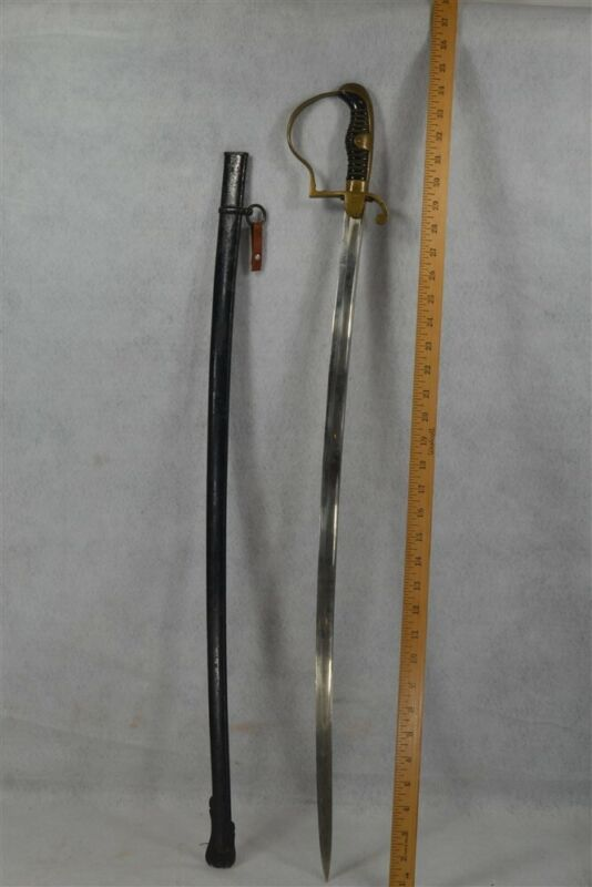 sword German WWI Era metal scabbard antique original 1800s