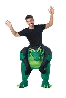 Trage Mich Drachen Reite Erwachsene Kostüm Dinosaurier Lustig - Tragen Halloween Kostüm