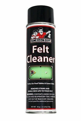 Game Room Guys Pool Table Cloth Felt Cleaner