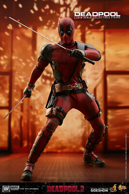 DEADPOOL #2 1/6th Collectible Figure by Hot Toys The foul-mouthed Merc is back!