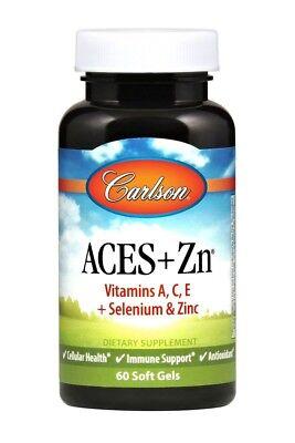 Carlson Laboratories 60 Softgel (Aces + Zn Antioxidants Carlson Laboratories 60 Softgel )