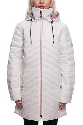 Bliss Down Jacket (2019 NWT 686 Bliss Down Insulator Jacket Snowboard Womens S Small White RA117)