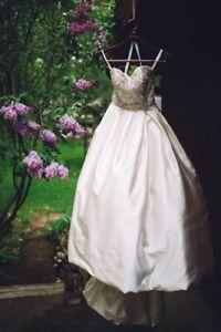 Beautiful Sweetheart Wedding Dress