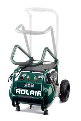 Rol-air Vt25big 2.5 Hp 115v 6.5 Cfm90psi 5.3 Gallon Cart Compressor Wfoldin