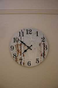 Large Rustic Home wall clock Manly Manly Area Preview