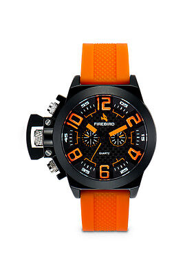 Colibri Firebird Aras Mens Watch Orange Fb103 Closeout Sale