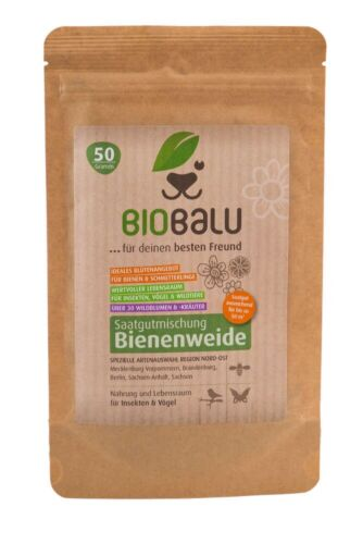Bienenweide Saatgutmischung NORDOST Biobalu Blumenwiese BIO BALU Samen? 50qm