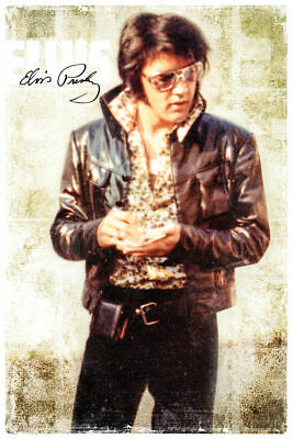 ELVIS PRESLEY - COOL POSTER - 24x36 MUSIC 241447