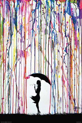 DANDELION - MARC ALLANTE ART POSTER - 24x36 CUTE WATERCOLOR 51898