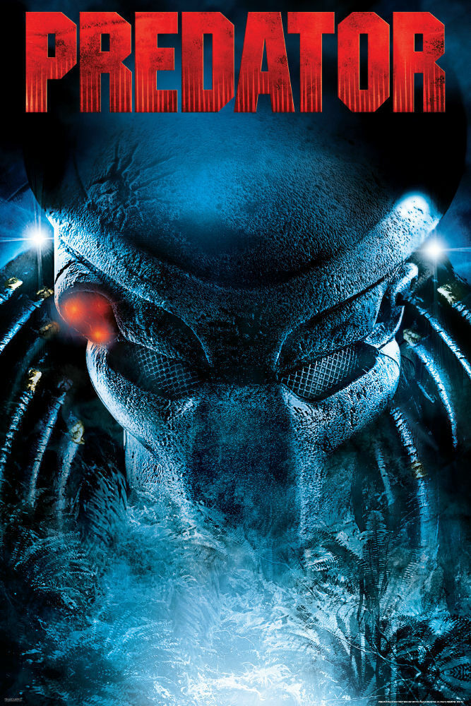 PREDATOR MOVIE POSTER - 24x36 - 1741