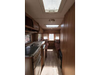 5 BERTH SWIFT CHARISMA WITH MOTOR MOVER AND AWNING