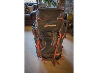 Berghaus 17+15 litre bioflex rucksack
