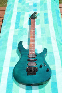 RARE YAMAHA PACIFICA 821D ELECTRIC GUITAR WITH DIMARZIOS Kuraby Brisbane South West Preview