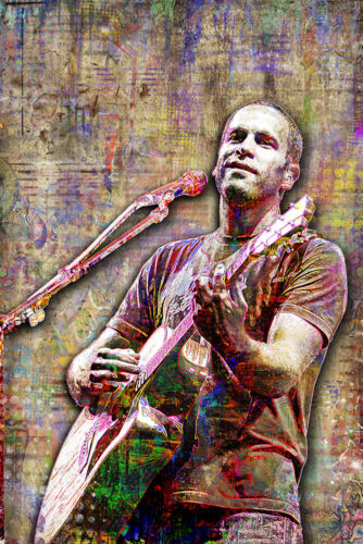 JACK JOHNSON Tribute 12x18in Poster Artwork Jack Johnson 12x18in Free Shipping