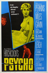 PSYCHO CLASSIC MOVIE POSTER 12
