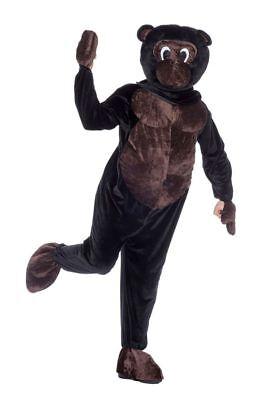 WIL - Herren Maskottchen Kostüm Affe Karneval Fasching Verkleidung - Maskottchen Kostüm Herren