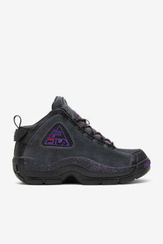 FILA Grant Hill 2 Mid 96 Outdoor Black Electric Purple - 1BM00861 New