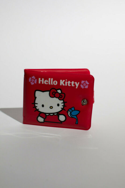 Vintage Sanrio Hello Kitty Red Vinyl Wallet
