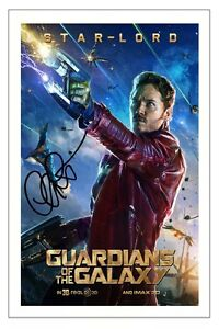 Chris Pratt Guardians of The Galaxy Signed Autograph Photo ...