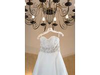 Mori Lee Wedding Dress Size 10/12