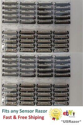 100 Cartridges Fit Gillette Sensor 3 Excel Men Women Razor blade Refill Made -