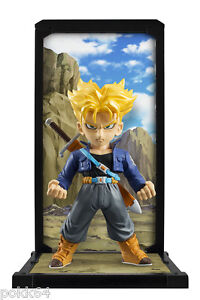 Dragon Ball Z figurine Tamashii Buddies Sup Saiyan Trunks 3 1 8in Bandai figure