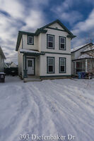 393 Diefenbaker 5 Bed 3.5 Bath Fenced Yard Lots of Parking