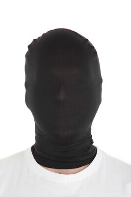 Inexpensive Costumes For Halloween (Black Morphmask  for Fancy Dress Costume Cheap Morph Masks by Morphsuits)