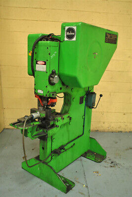 82 Ton Mubea Model Kl750 With Cnc Feed Punch Line Yoder 56444
