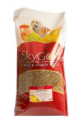 SkyGold Popular Canary Bird Food Seed Mix 20 Kg