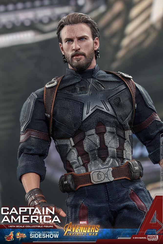 Hot Toys Captain America Marvel Avengers Infinity War 1/6 Sc