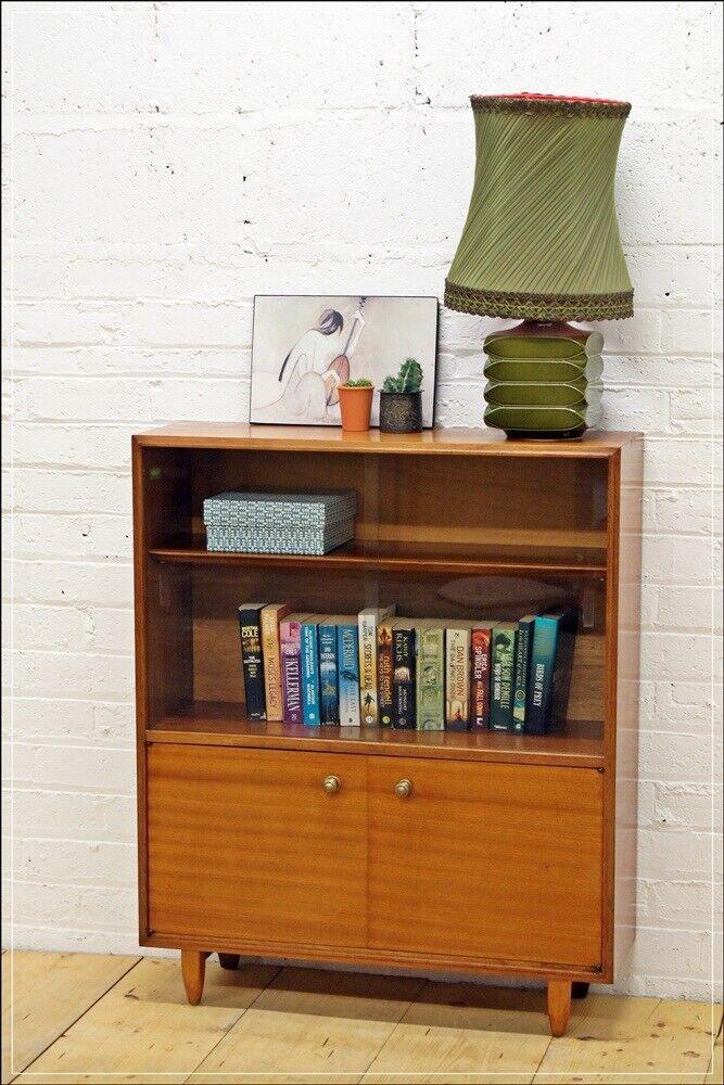 Mid Century Teak Sideboard Bookcase By Beaver Tapley