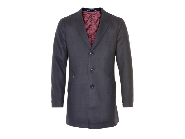 "Matinique® Wool Luxury Coat/Black - 3XL (25"" PTP) WAS £209.95"