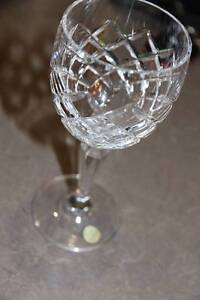 BOHEMIAN Crystal Set of 6 Elegant Wine Glasses with Decanter Franklin Gungahlin Area Preview