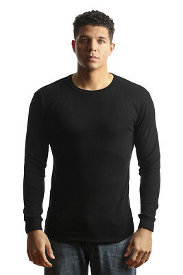 City Thermal (City Lab Black Fitted Thermal Crewneck Shirt )