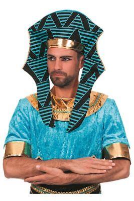 WIL - Kostüm Zubehör Ägypter Kopfbedeckung Pharao Karneval Fasching