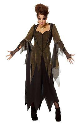 Halloween Kostume (WIL - Damen Kostüm Hexe Karneval Fasching Halloween)