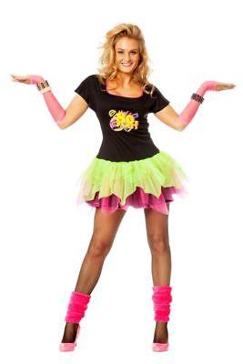 WIL - Damen Kostüm 80er Jahre Disco Karneval Fasching