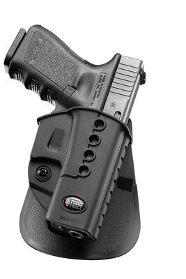 Fobus Evolution Series Paddle Holster For Glock 17/19/22/23/31/32/34/35-GL2E2](fobus paddle holster glock 17)