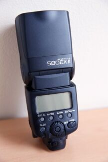 Canon Speedlite 580EX II Flash Bexley Rockdale Area Preview