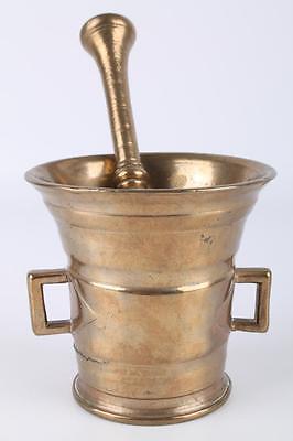 Mörser Bronze 19. Jahrhundert Deutschland Bronzemörser Moerser Reibschale