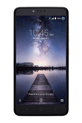Zte Zmax Pro Z981 32Gb Smartphone 4G Lte Usb C   T Mobile Excellent Condition