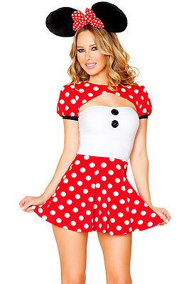 MICKEY MINNIE MINI MOUSE DISNEY FAIRY TALE PARTY COSTUME](Mini Mouse Costume)