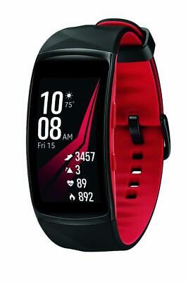 Samsung Gear Fit2 Pro Smart Fitness LARGE Band, Diamond Red, SM-R365NZRAXAR