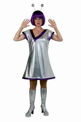 Alien-Kostüm Damen Frauen Außerirdische Space Outfit - Alien Frau Kostüme