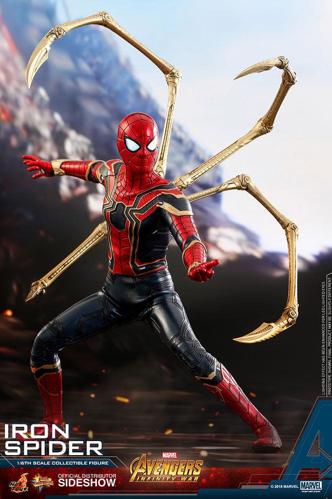 Hot Toys Iron Spider Spider-Man Marvel Avengers Infinity War